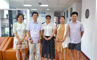 浙江省互联网金融联盟领导莅临仁润指导