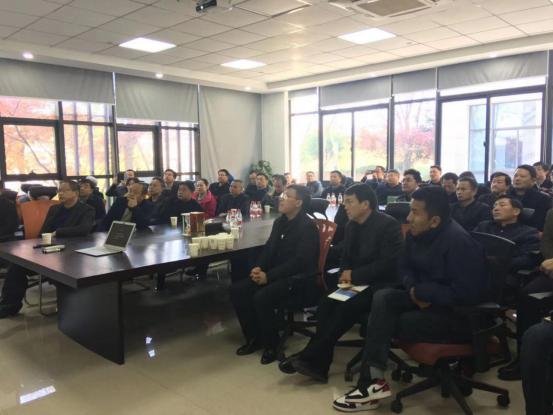 湖北省领导干部考察团莅临仁润指导交流